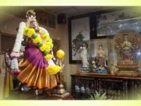 Cult image of pratyangira devi form India in Temple of Aj.Somsak Thepsomboon prachauthit72 bkk