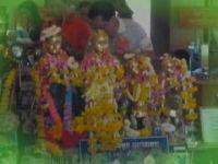 ทำบุญวันออกพรรษา ทอดกฐิน วัดสวนหลวง อัมพวา อ.อัมพวา (กุมารเทพพี่จุก อายุ200ปี) 15 พ.ย 56