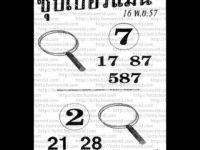 เลขเด็ดงวดนี้ โดย อาจารย์หมู โฮโรเวิลด์